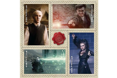 Harry Potter and the Moneymaking Magic of Pop Culture Stamps