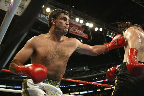 Boxer Corrie Sanders