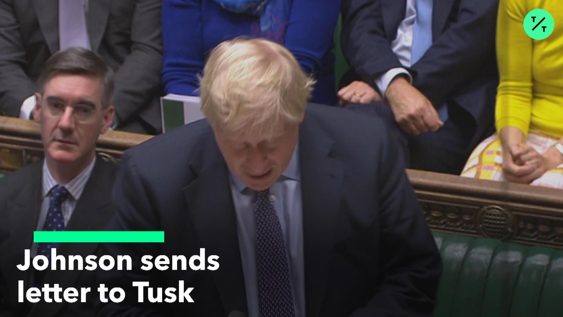 Boris Johnson Brexit Letter
