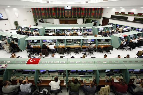 Turkey Stocks Head for Biggest Month Drop Since '08