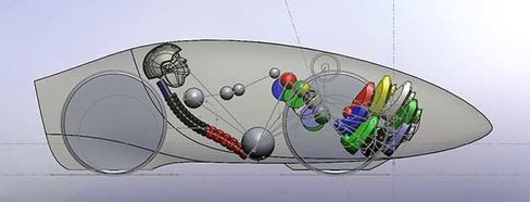Eta Speedbike configuration rendering