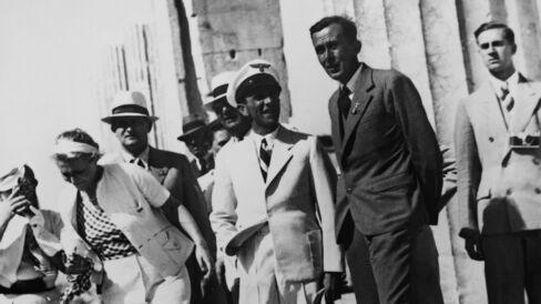 Goebbels Visits The Acropolis