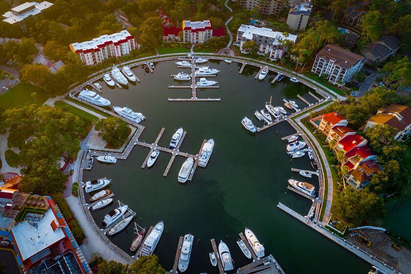 RF luxury rich boats yachts Hilton Head