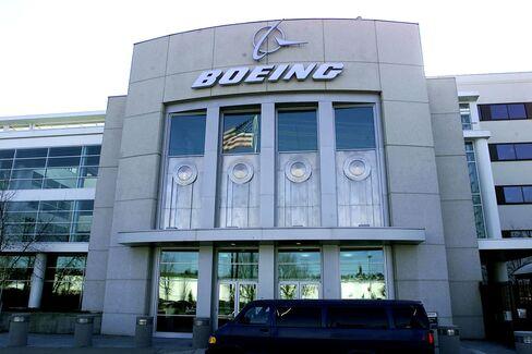 ボーイングのシアトル本社