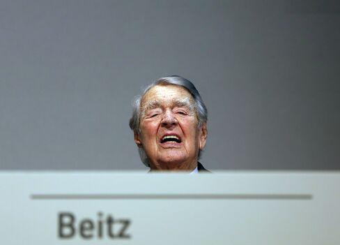 ThyssenKrupp's Berthold Beitz