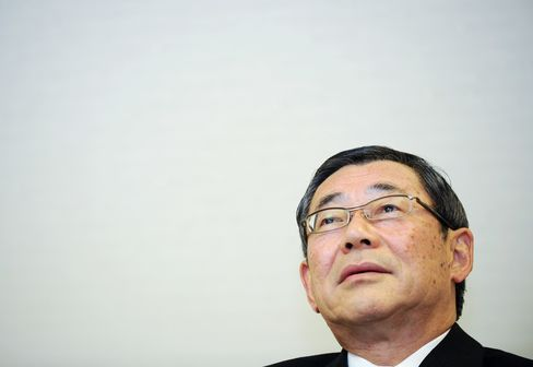 Tepco President Masataka Shimizu