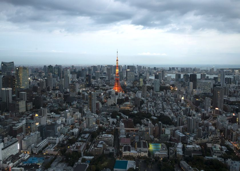 Views Of Tokyo's Skyline As Abenomics Shows ECB Why Fiscal Backup Can't Ensure Inflation