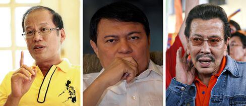 Benigno Aquino, Manuel Villar and Joseph Estrada