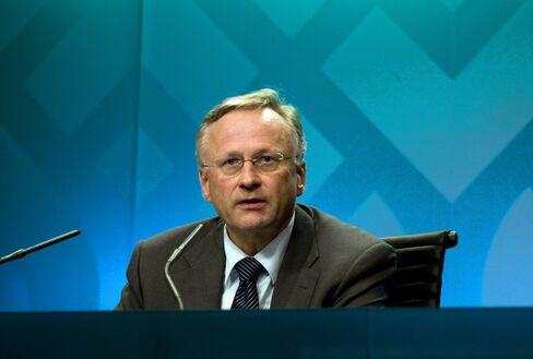 Former Central Bank of Norway Governor Svein Gjedrem