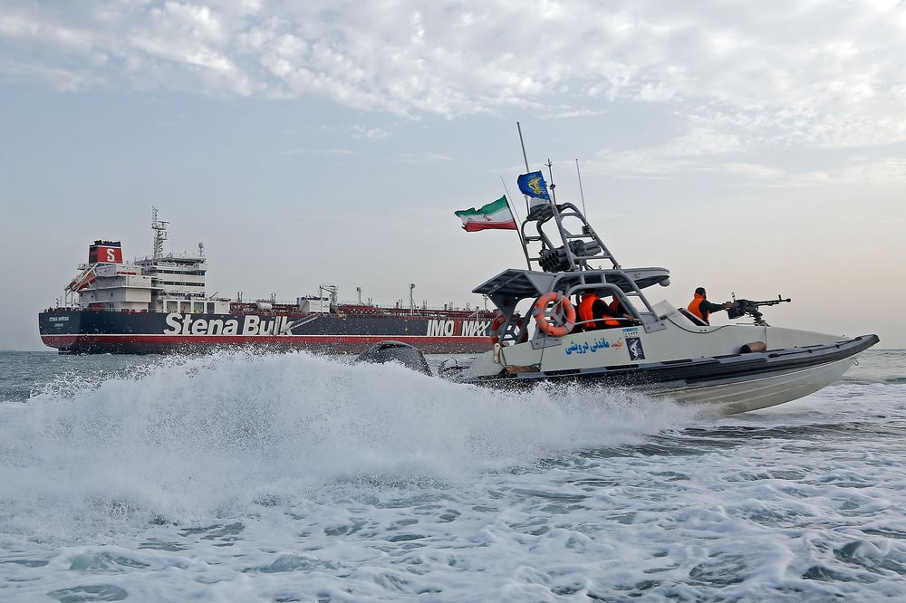 European Allies Spurn U S  Effort to Protect Ships From Iran