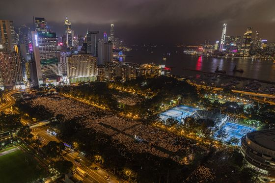 Dozen Hong Kong Activists Plead Guilty Over 2020 Tiananmen Vigil