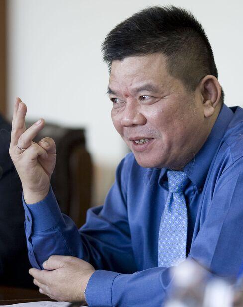 Bank for Investment & Development of Vietnam Chairman Tran Bac H