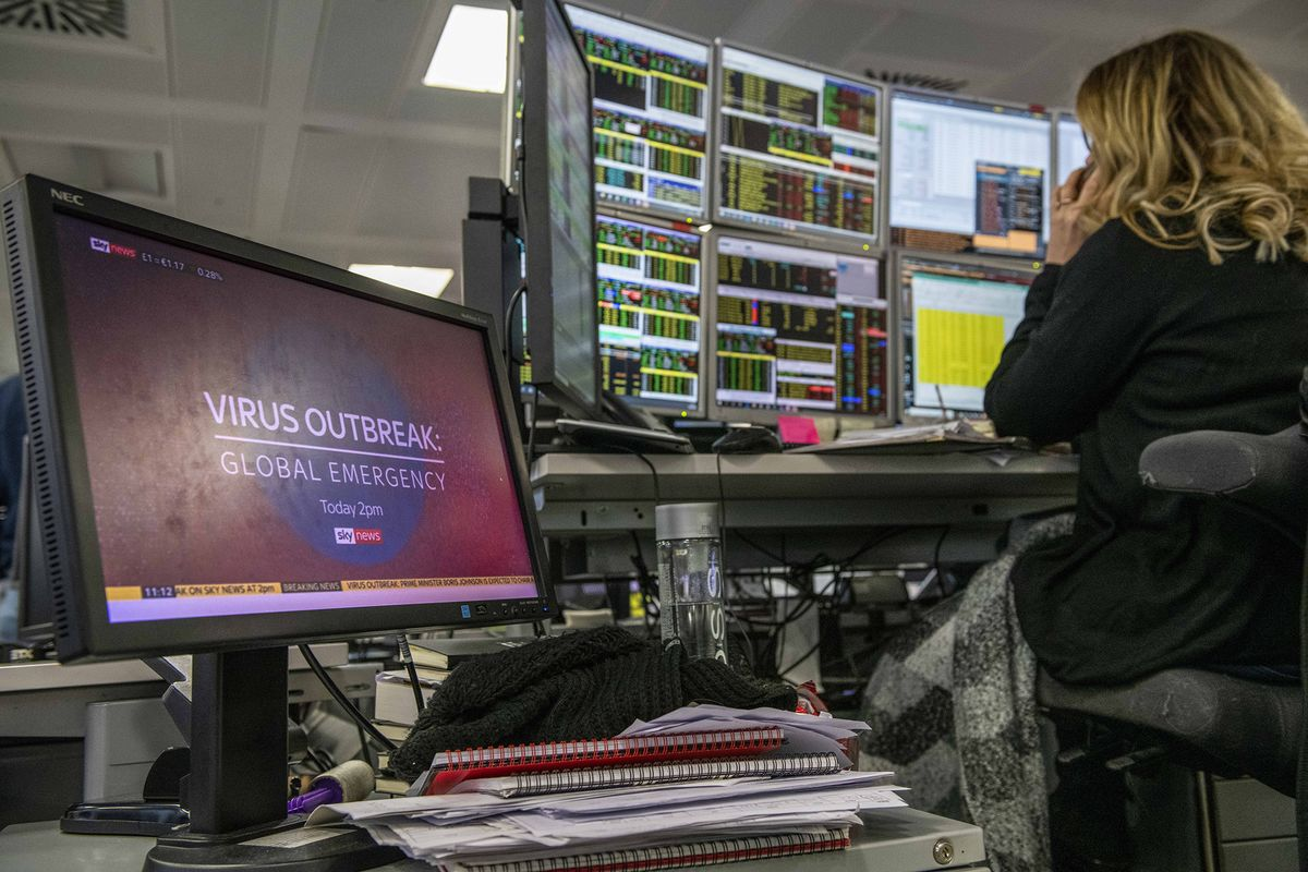 Virus Lockdown Tests Are New Norm for London's Money Managers