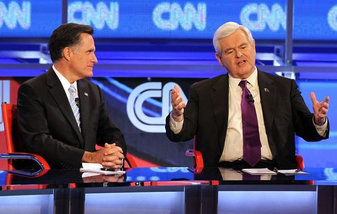 Gingrich Says Romney Is the Most Likely Republican Nominee