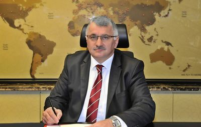 Image result for The chief executive of Turkish Airlines Bilal Eksi