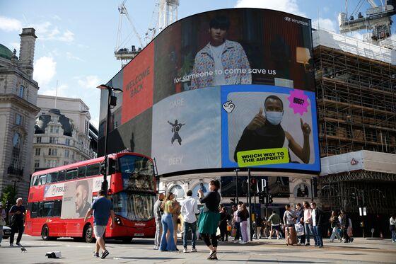 Billboard Ad Sales Near Pre-Pandemic Levels as U.K. Reopens