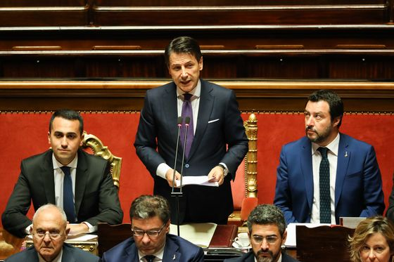 Conte Tells Italian Populists Their Program Will Take Five Years