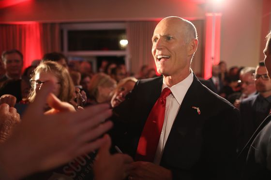 Rick Scott Says Nelson Has Conceded in Florida Senate Race