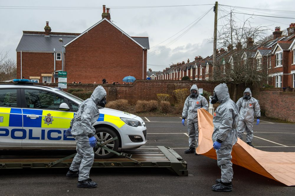 Russia Hit by EU Sanctions Tied to 2018 Salisbury Poisoning