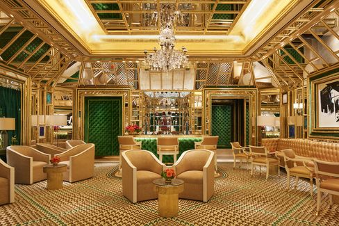 The Wing Lei Bar at Wynn Palace.