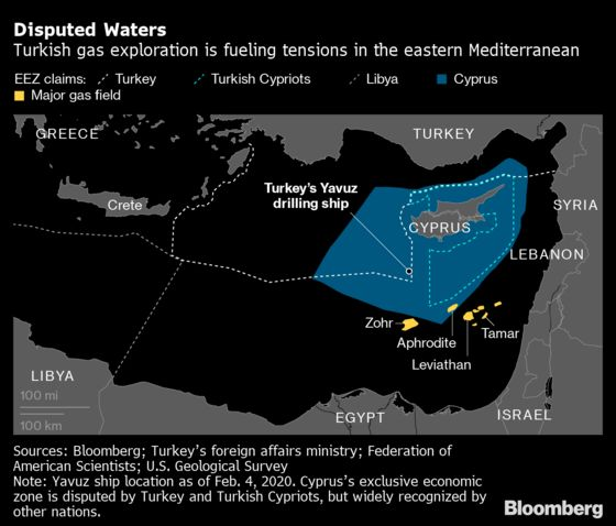 EU to Sanction Turkish Nationals Over Gas Drilling Off Cyprus