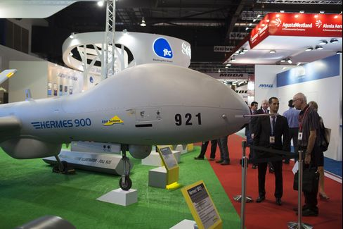 A Hermes 900 Unmanned Aerial Vehicle