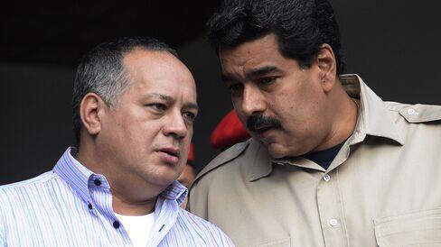 Diosdado Cabello & Nicolas Maduro