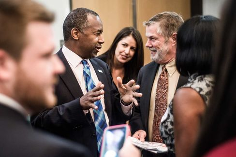 Ben Carson attendsa health care summit on Sept.18 in Greenville, South Carolina.