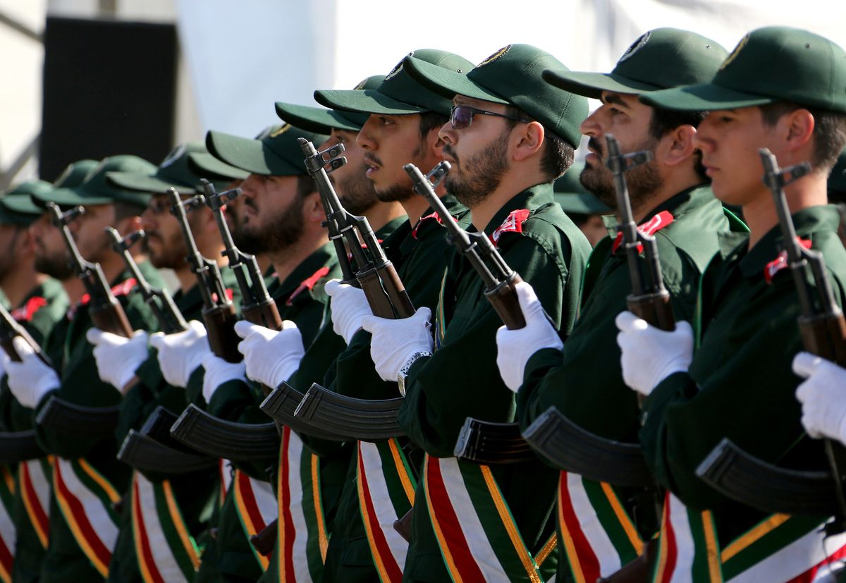 Iran Guards Commander Says Ready to Back Palestinian Forces
