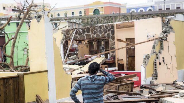 Maria Fallout Lays Bare Puerto Rico's Sharp Income Divide
