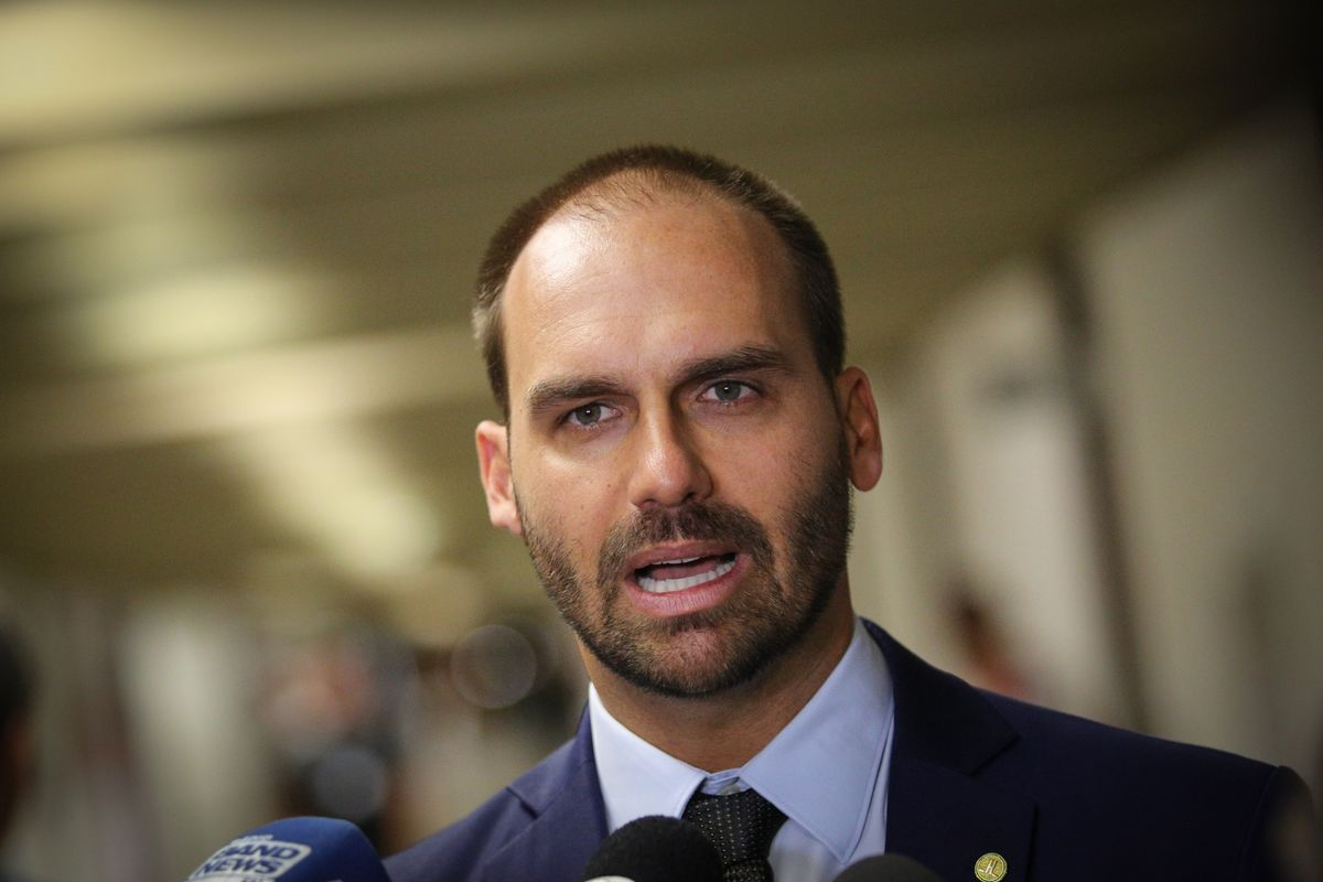 China Outraged as Bolsonaro's Son Blames Virus on Beijing
