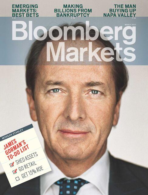 James Gorman, CEO of Morgan Stanley,