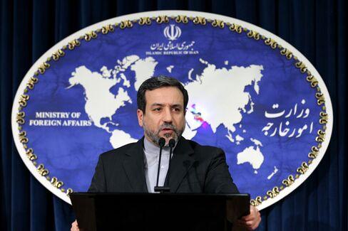 Iran's Deputy Foreign Minister Abbas Araghchi