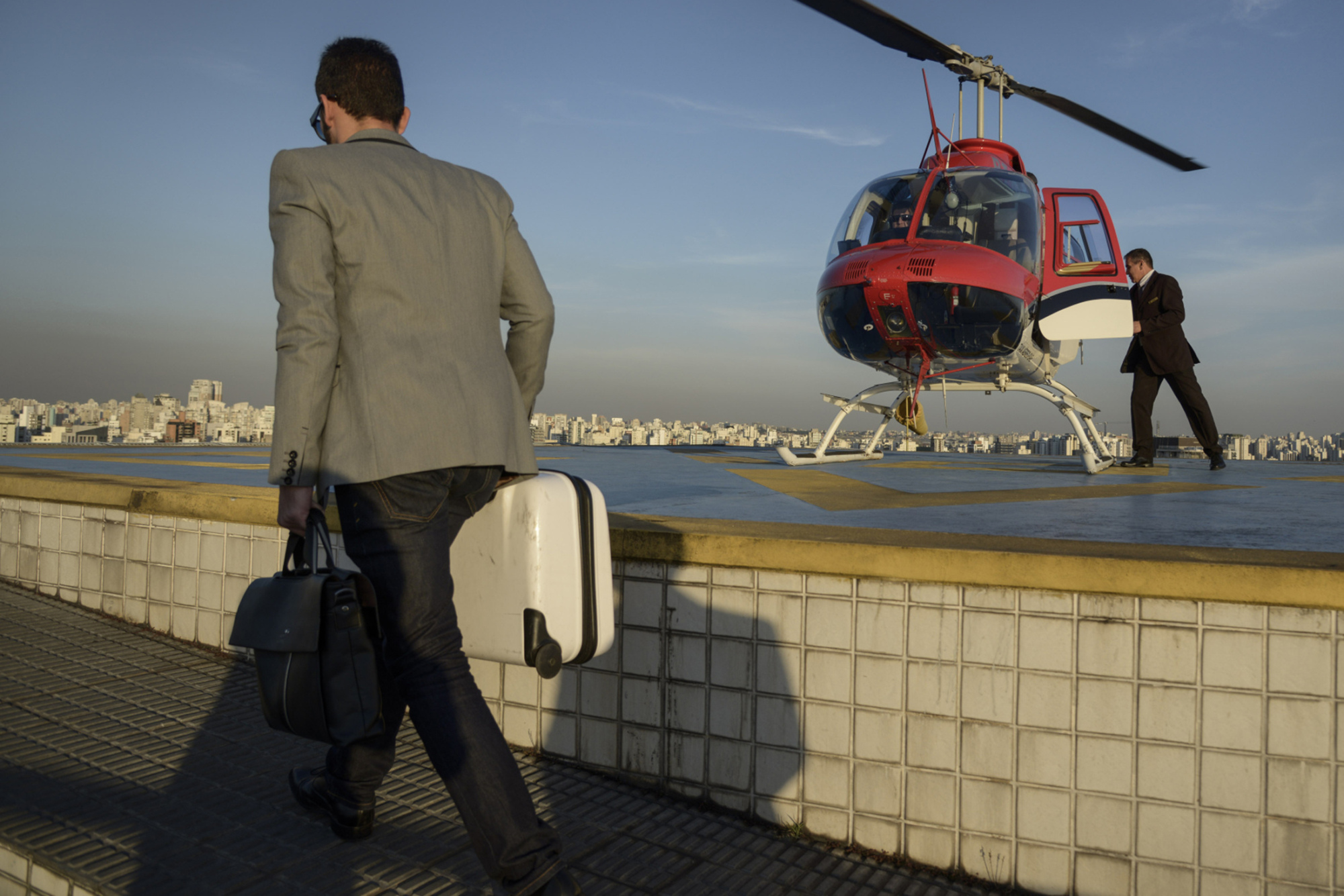Uber Lets You Hail a Helicopter in Brazil for $63