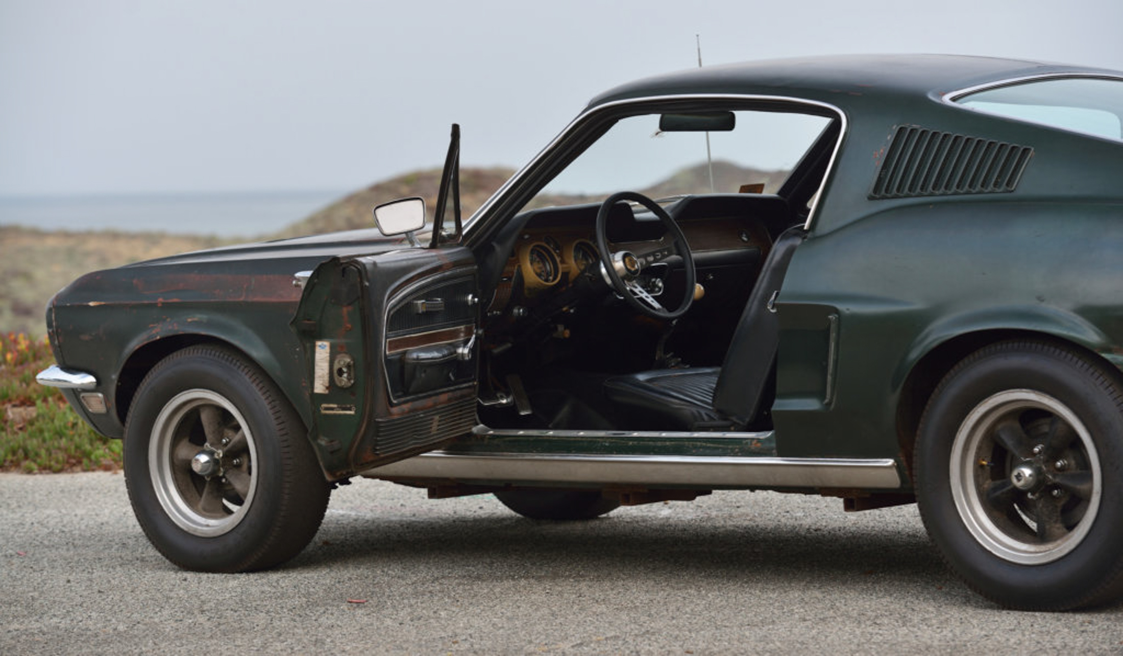 relates to Steve McQueen's Bullitt Mustang Sells for $3.4 Million