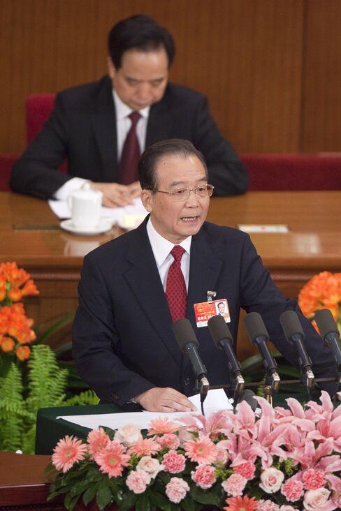 China's Prime Minister Wen Jiabao