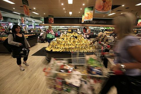 Australia Grocers May Post Higher Sales