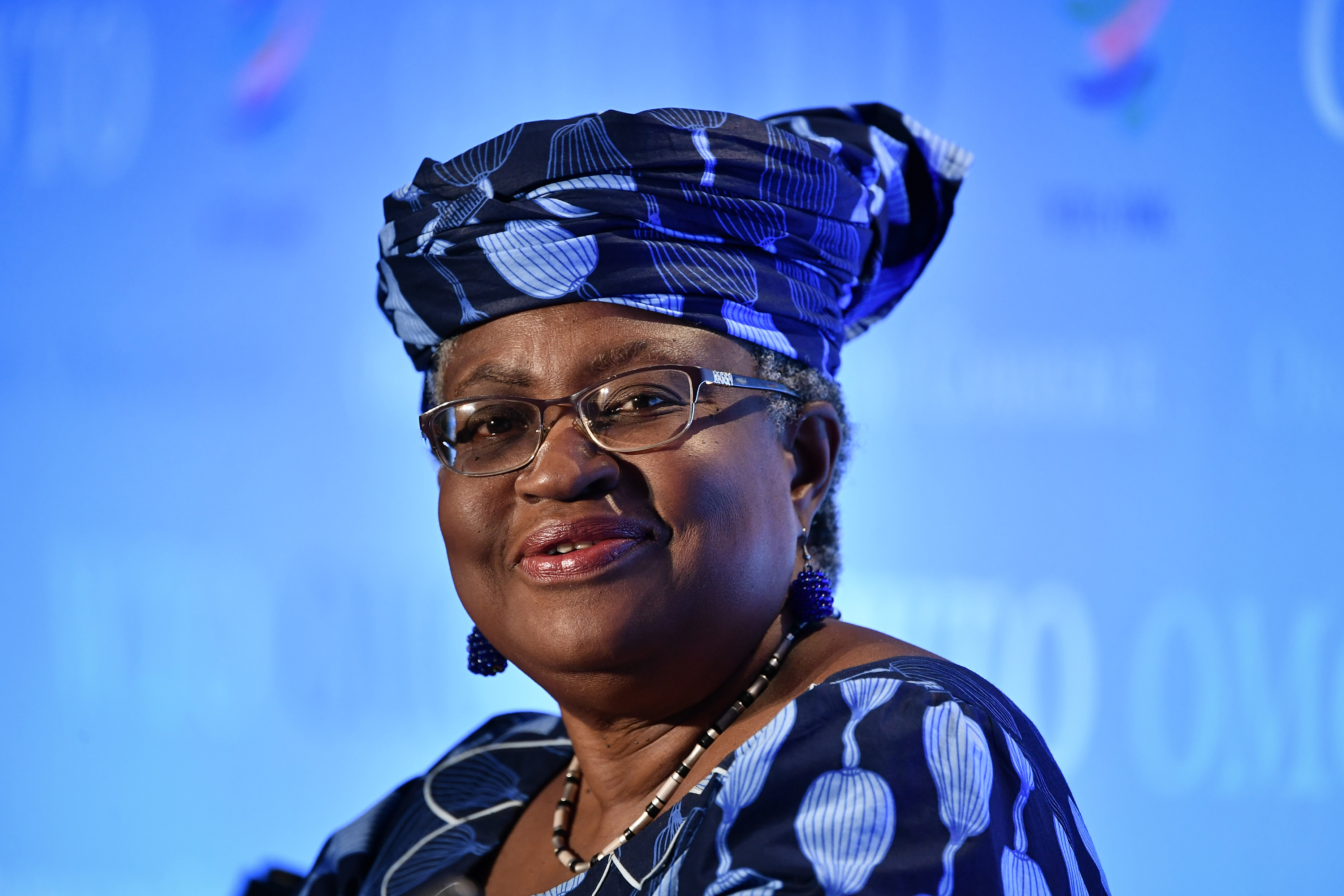 Ngozi Okonjo-Iweala in Geneva on July 15.