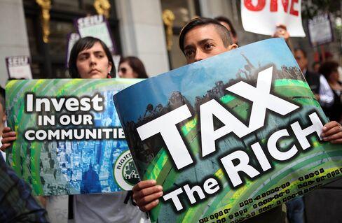 Democrats Keep Tax-Raising Focus on Top 2% of U.S. Households