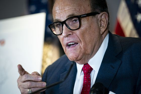 Trump Voting-Fraud Boosters Grilled in Court, Giuliani a No-Show