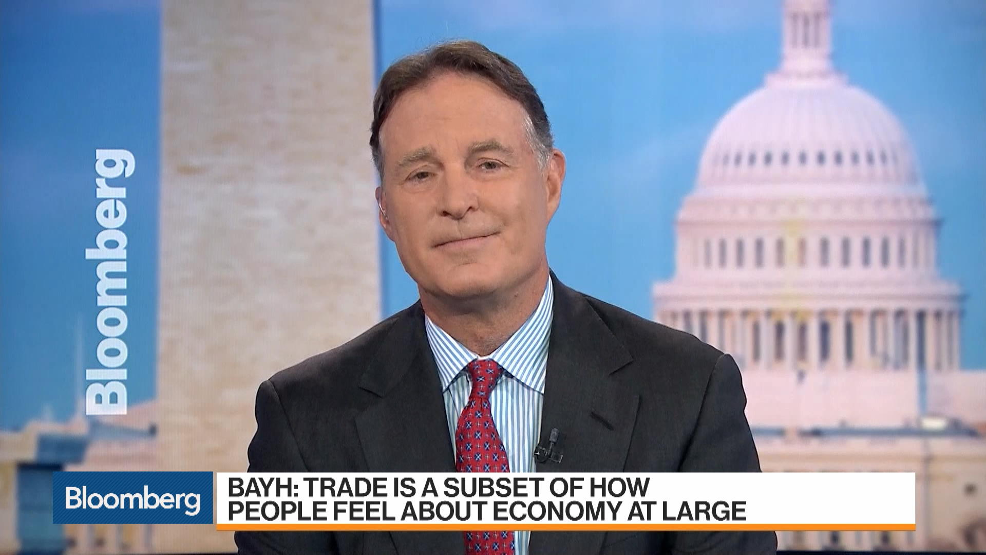Trade Is a Subset of How People Feel About the Economy, Says Former Indiana Senator