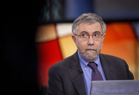 Krugman Says Fed Is Unlikely to Raise Interest Rates in 2015