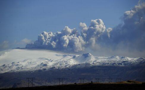 The Eyjafjallajokull volcano