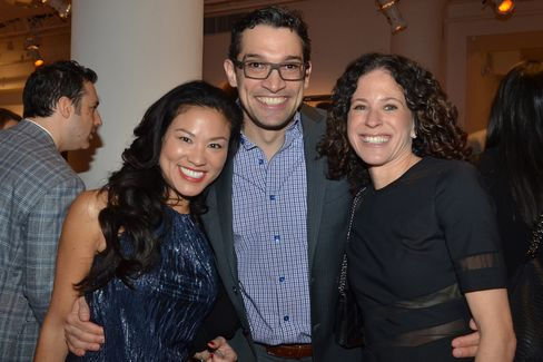 Lillian Schlein, Adam Futterman and Elissa Futterman Photographer: Amanda Gordon/Bloomberg