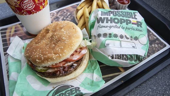 Burger King Cuts Impossible Whopper Price on Slowing Sales