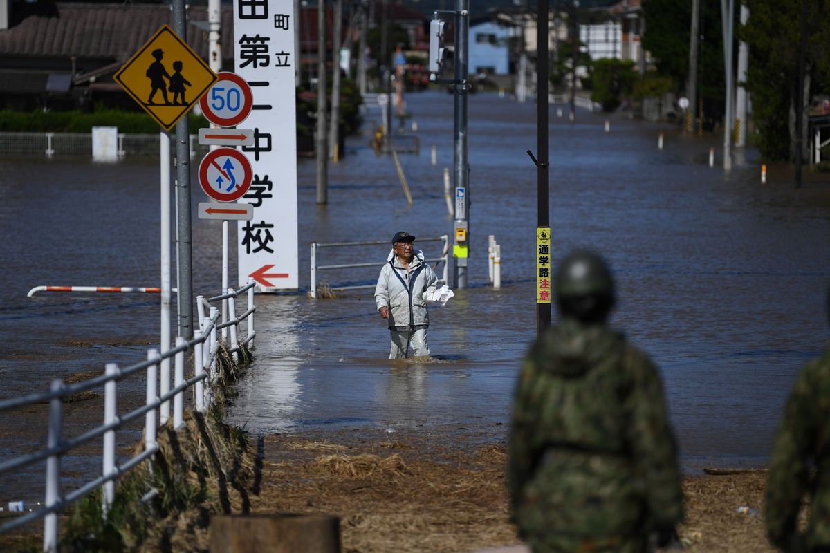 In Photos: Typhoon Hagibis Leaves Deaths, Destruction in Japan