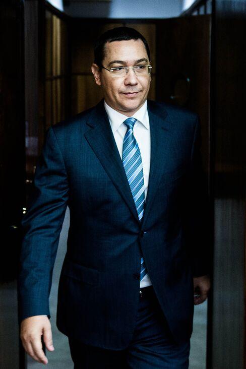 Victor Ponta, Romania's prime minister.