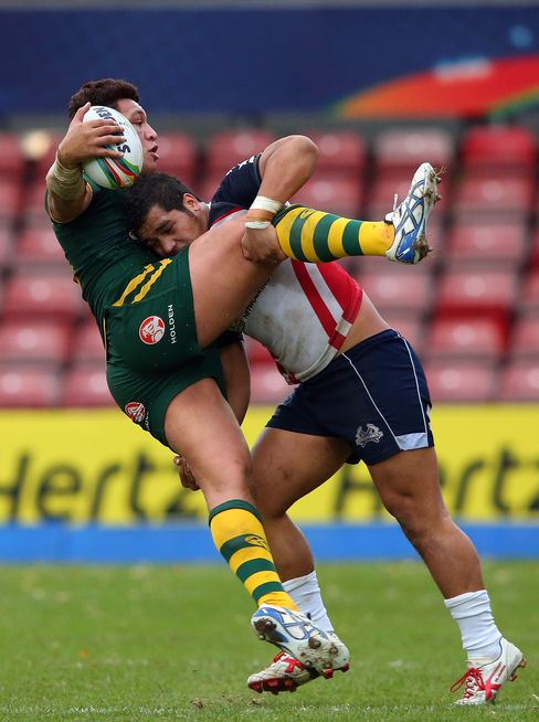Rugby League World Cup Quarterfinal Match