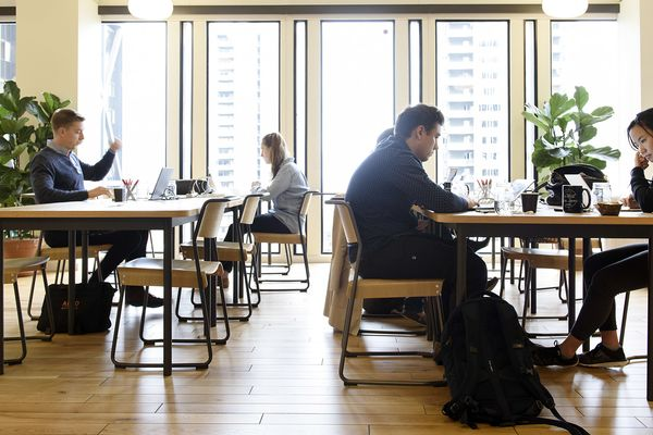 Inside A WeWork Inc. Office As Company Aims To Expand Across Asia