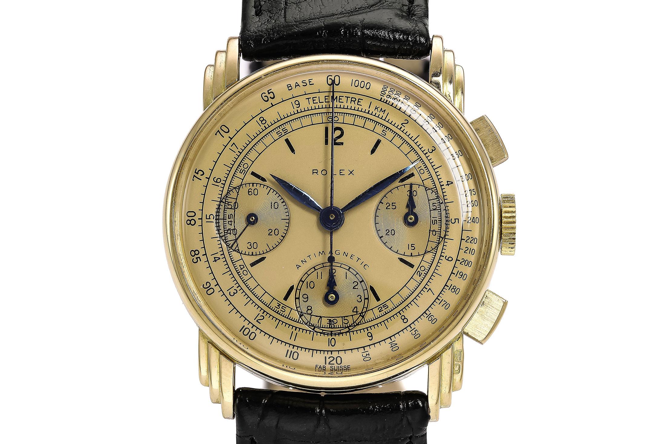Rolex Fancy Lug Chronograph (Lot 206)